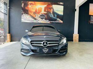 Mercedes-benz C 180 1.6 CGI Avantgarde Cinza 2015