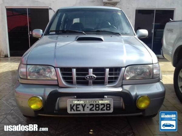 KIA SPORTAGE 2.0 DLX 4X4 TURBO INTERCOOLER DIESEL 4P MANUAL Prata 2001