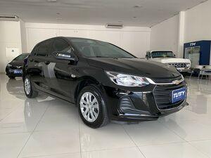 Chevrolet Onix 1.0 LT 8V Preto 2021