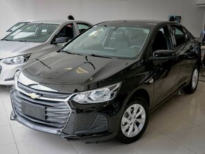 Chevrolet Onix 1.0 LT Turbo Preto 2022