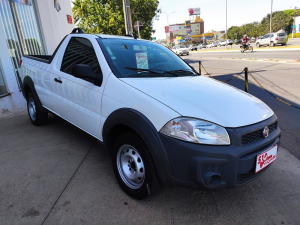 FIAT STRADA CS 1.4 WORKING Branco 2014