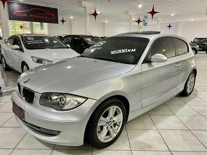 BMW 120i 2.0 16V Prata 2009