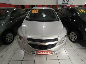 Chevrolet Onix 1.0 Joy 8V Prata 2018