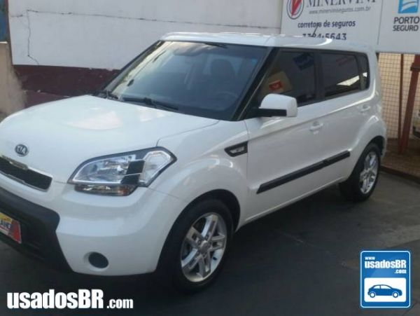 KIA SOUL 1.6 EX 16V FLEX 4P MANUAL Branco 2012