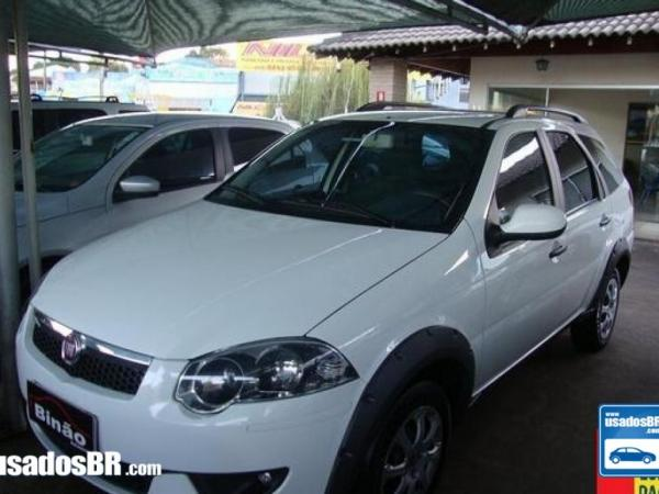 FIAT PALIO WEEKEND 1.6 TREKKING 16V Branco 2014