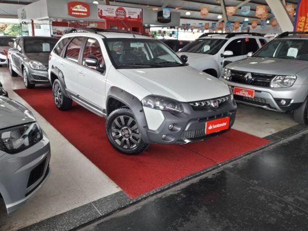 FIAT PALIO WEEKEND 1.8 ADVENTURE LOCKER 16V Branco 2017