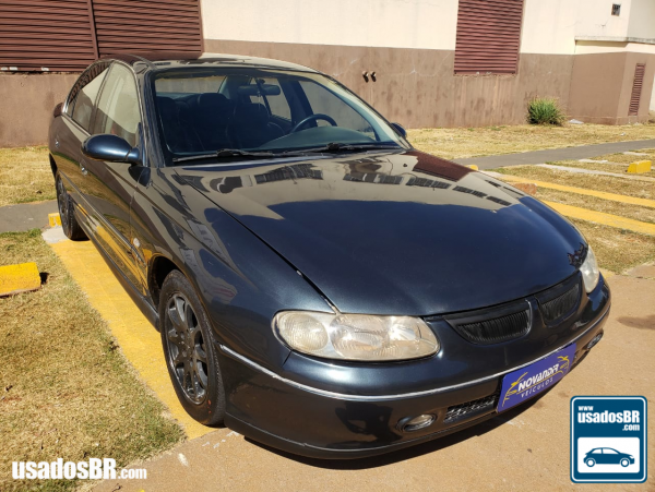 CHEVROLET OMEGA 3.8 CD V6 Cinza 2001