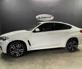 BMW X6 4.4 M Sport Bi-turbo V8 Branco 2015