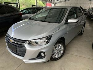Chevrolet Onix 1.0 LTZ Turbo Prata 2021