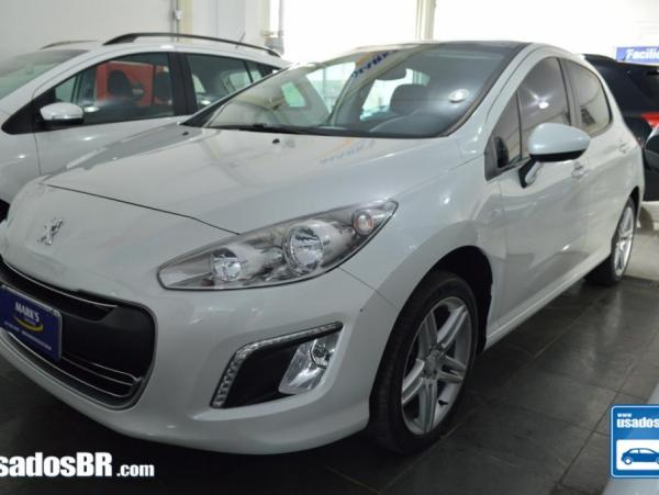 PEUGEOT 308 1.6 ACTIVE 16V FLEX 4P MANUAL Branco 2015