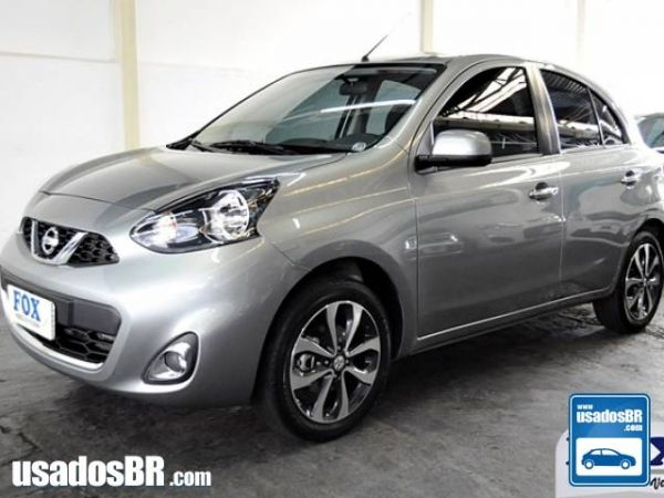Foto do veiculo NISSAN MARCH 1.6 SL Cinza 2016