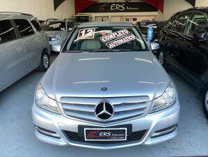 Mercedes-benz C 180 1.8 Classic Plus Prata 2012