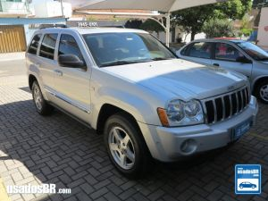 JEEP GRAND CHEROKEE 4.7 LIMITED V8 Prata 2006