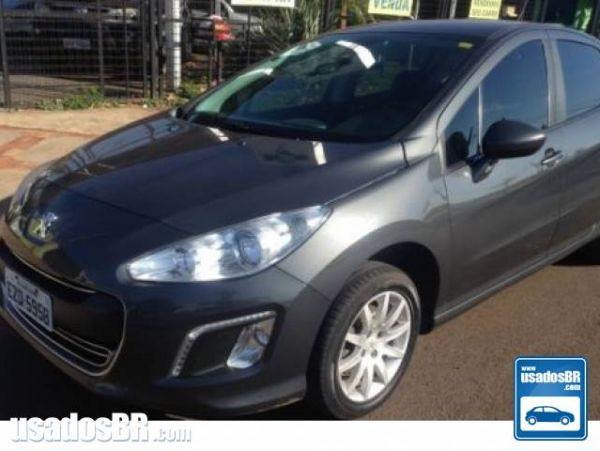 PEUGEOT 308 1.6 ALLURE 16V FLEX 4P MANUAL Cinza 2013