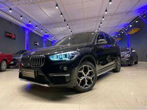 BMW X1 2.0 20I X-line Sdrive Turbo Preto 2017