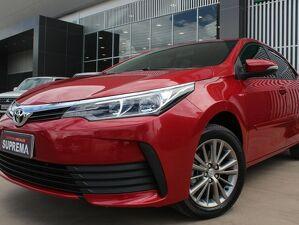 Toyota Corolla 1.8 GLI Upper Vermelho 2019