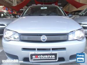 FIAT PALIO 1.0 FIRE CELEBRATION 8V Prata 2007