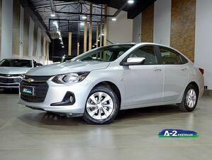 Chevrolet Onix 1.0 Turbo Plus LTZ Prata 2020