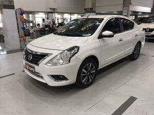 Nissan Versa 1.6 Unique Branco 2018