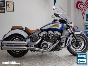 Indian Scout 1133cc Azul 2018