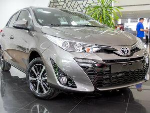Toyota Yaris 1.5 XLS Connect Cinza 2021