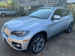 BMW X6 4.4 50I 8 Cilindros Bi-turbo Prata 2012