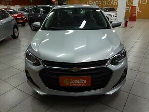 Chevrolet Onix 1.0 Turbo Prata 2020