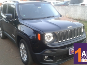 JEEP RENEGADE 1.8 LONGITUDE Prata 2019