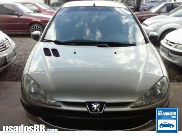 PEUGEOT 206 1.4 SENSATION 8V FLEX 2P MANUAL Prata 2005