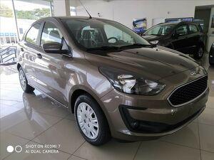 Ford KA 1.0 SE Plus 12V Prata 2021