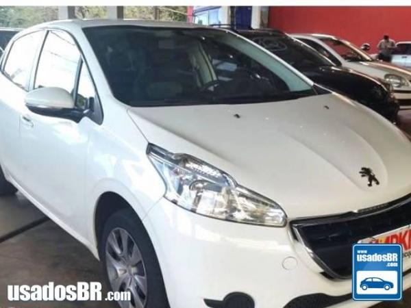 Foto do veiculo PEUGEOT 208 1.5 ACTIVE Branco 2014