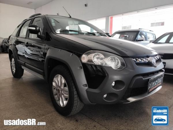FIAT PALIO WEEKEND 1.8 ADVENTURE 8V Preto 2013