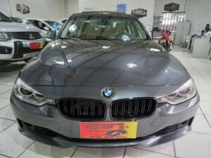 BMW 328i 2.0 Luxury Cinza 2013