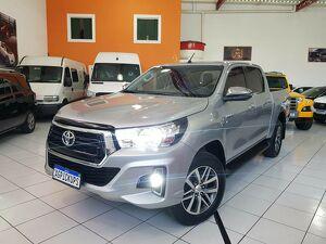 Toyota Hilux 2.7 SRV Prata 2019