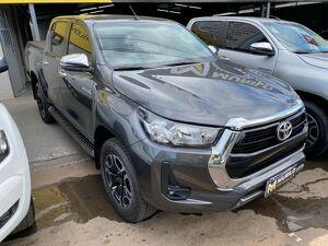 Toyota Hilux 2.8 SRV Cinza 2021