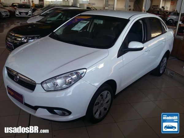 FIAT GRAND SIENA 1.4 ATTRACTIVE 8V Branco 2015