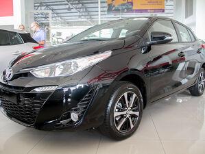 Toyota Yaris 1.5 XLS Connect Preto 2021