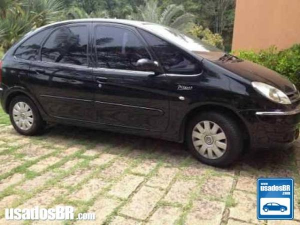 CITROËN XSARA PICASSO 2.0 EXCLUSIVE 16V GASOLINA 4P MANUAL Preto 2010