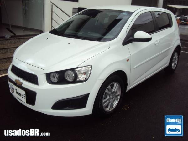 CHEVROLET SONIC 1.6 LT 16V FLEX 4P MANUAL Branco 2013
