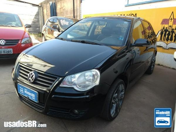 VOLKSWAGEN POLO HATCH 1.6 8V Preto 2010