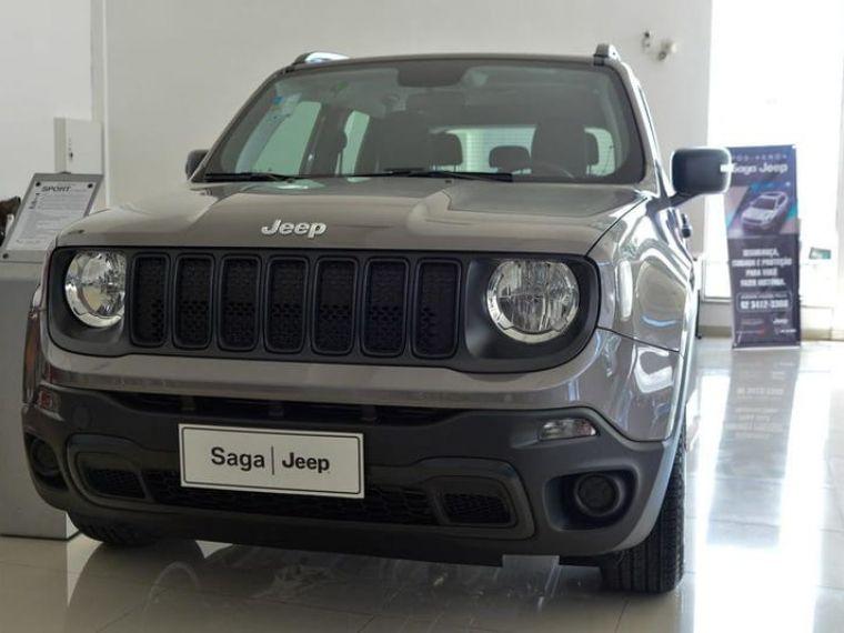 Jeep Renegade 1 8 Sport Cinza 2020 2020 Goiania 1008949