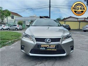 LEXUS CT200H 1.8 LUXURY HÍBRIDO Cinza 2017