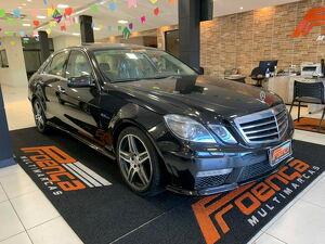 Mercedes-benz E 63 AMG 6.2 V8 Preto 2010