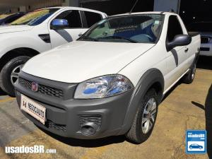 FIAT STRADA CS 1.4 WORKING Branco 2018
