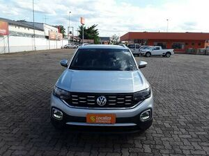 Volkswagen T-cross 1.4 250 TSI Highline Prata 2020