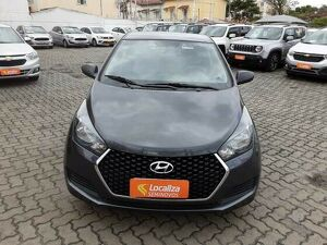 HYUNDAI HB20 1.0 UNIQUE 12V Cinza 2019