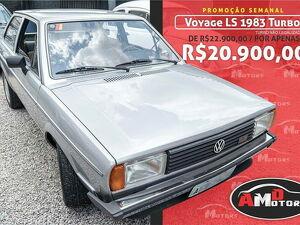 Volkswagen Voyage 1.6 CL Prata 1983