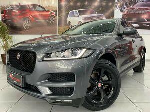 Jaguar F-pace 2.0 Prestige Turbo Cinza 2018