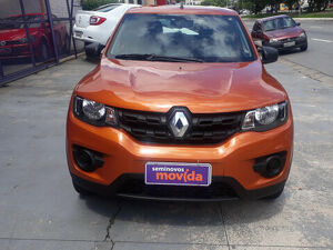 Renault Kwid 1.0 ZEN Laranja 2020