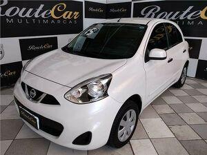 Nissan March 1.6 S Branco 2015